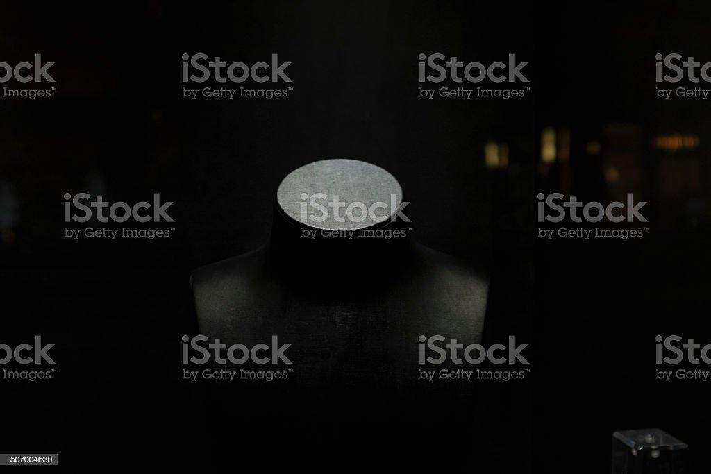 Headless bust stock photo