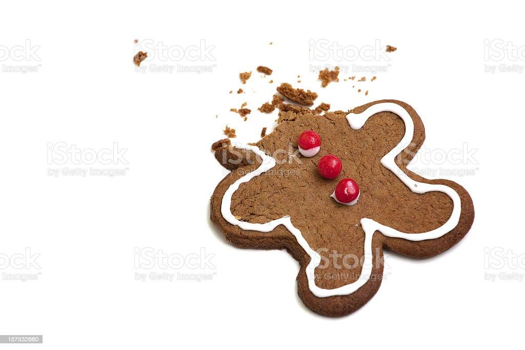 Headless Gingerbread Man stock photo