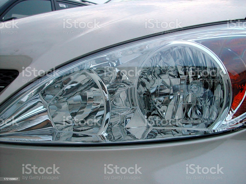 headlight royalty-free stock photo