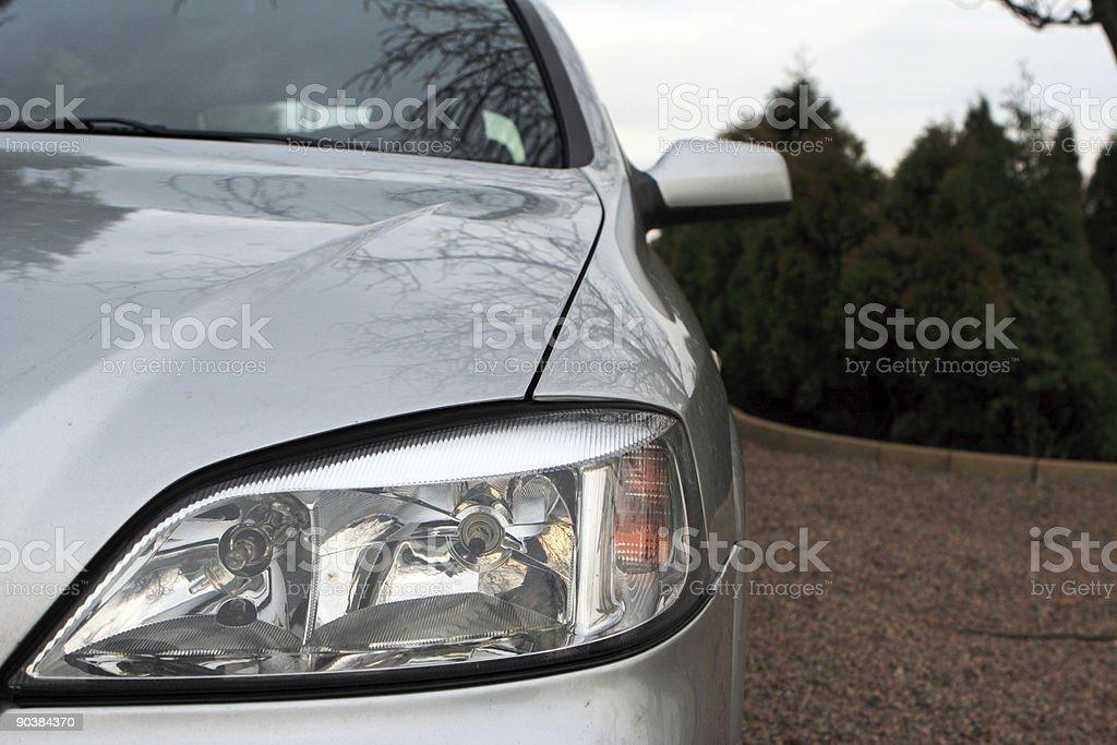 Headlight royalty-free stock photo