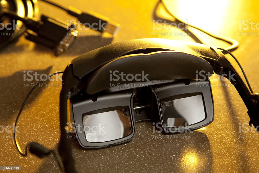 Head-Mounted Display royalty-free stock photo