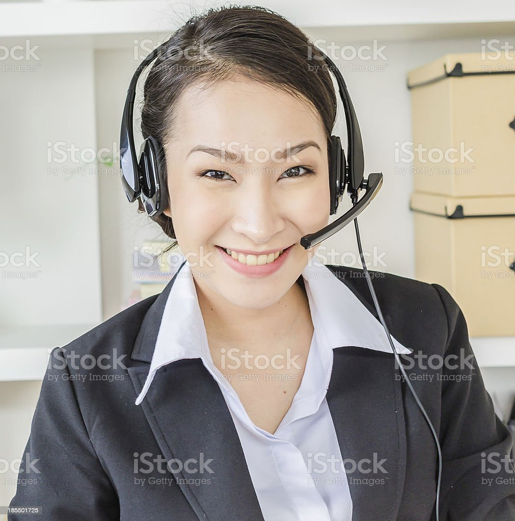 Headphone royalty-free stock photo