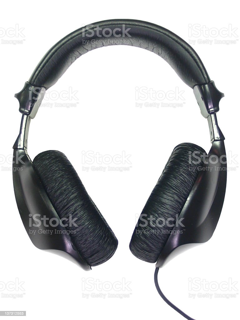 Headphones II royalty-free stock photo