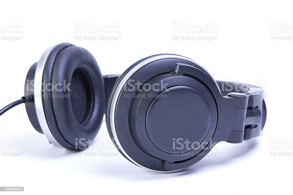 headphones isolated royalty-free stock photo