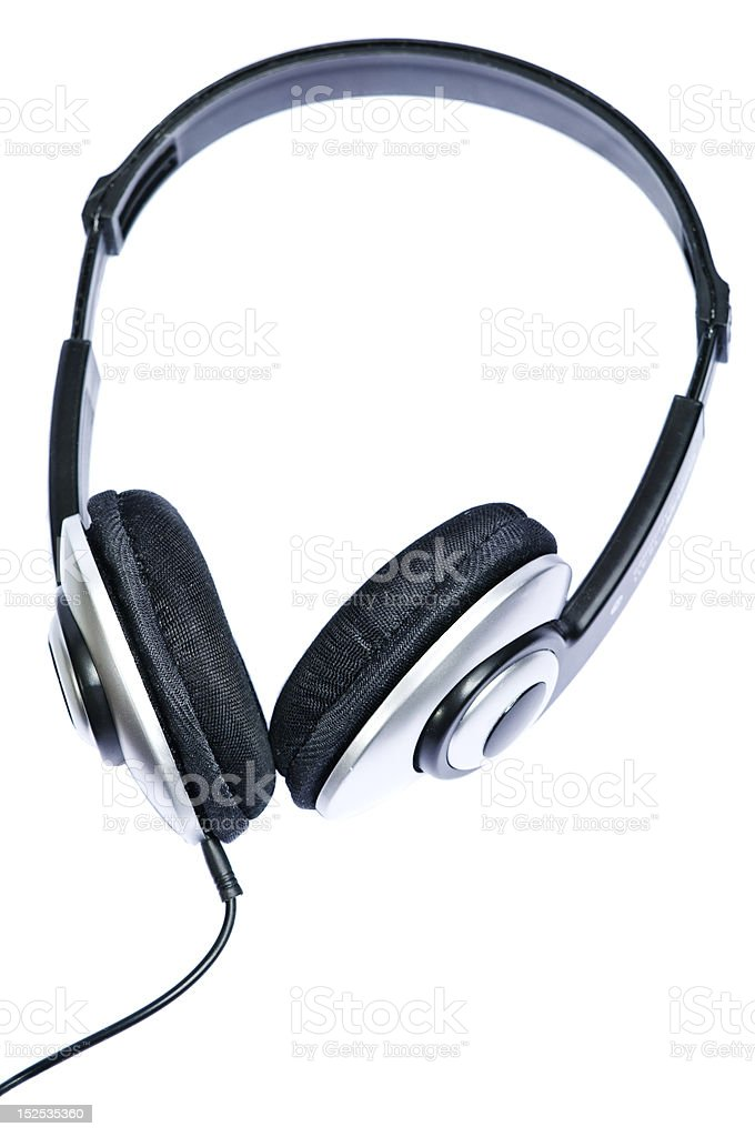 Fones de ouvido foto royalty-free