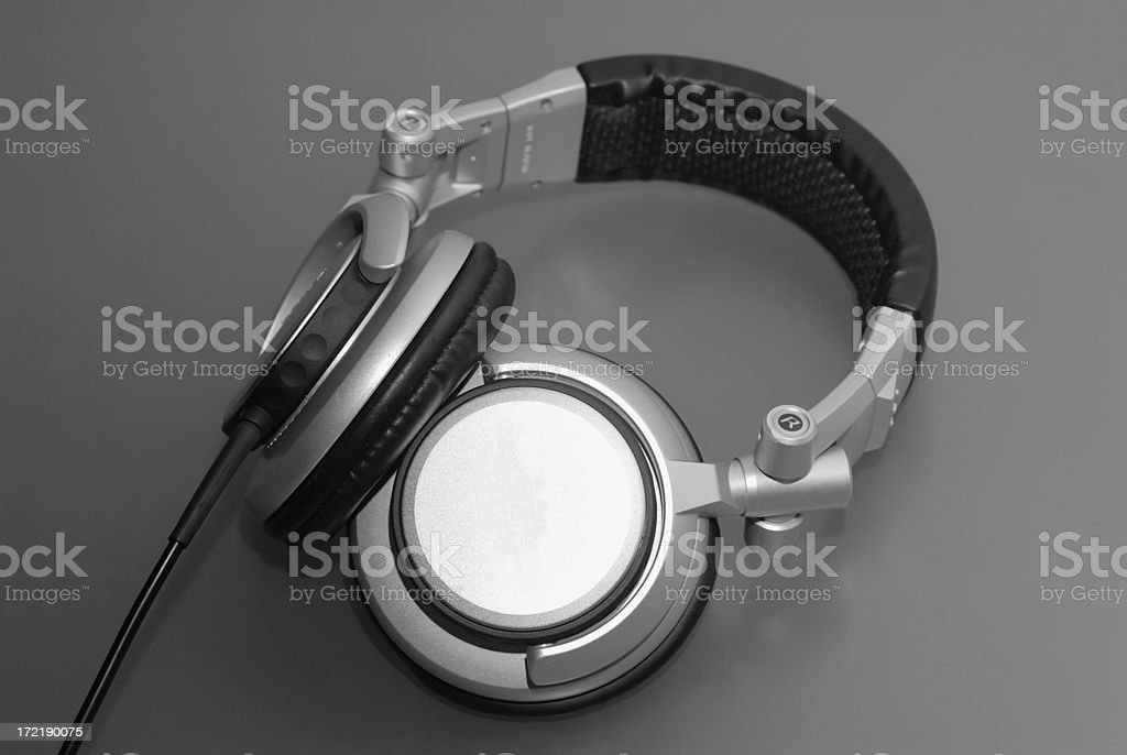 DJ Headphones royalty-free stock photo