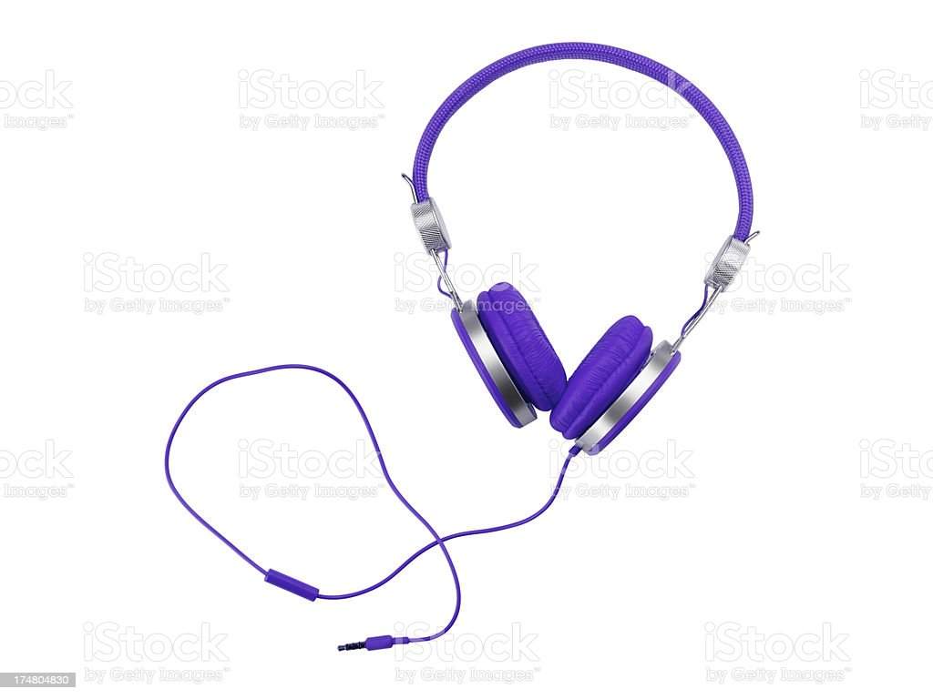 Headphones (Click for more) royalty-free stock photo