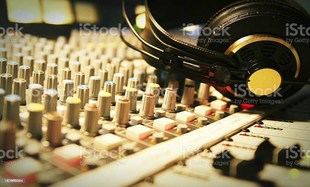 Headphones Remix 2 stock photo
