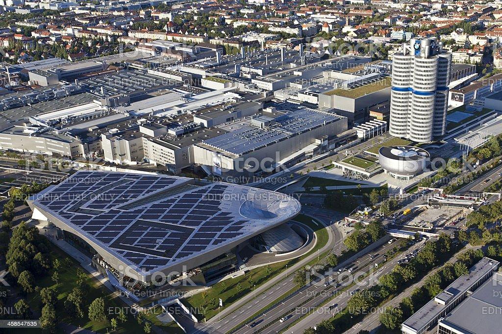 BMW headquarter in Munich stock photo