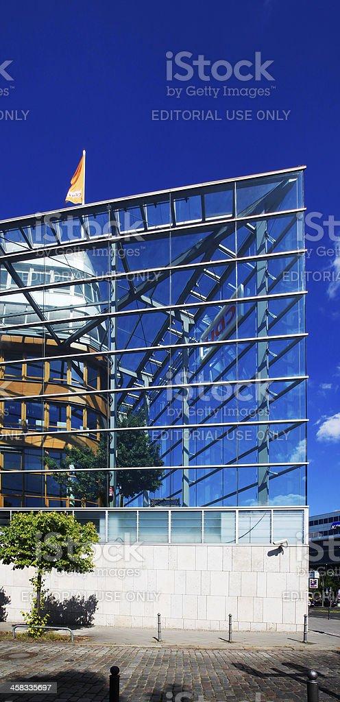 Headquarter of CDU, Berlin stock photo