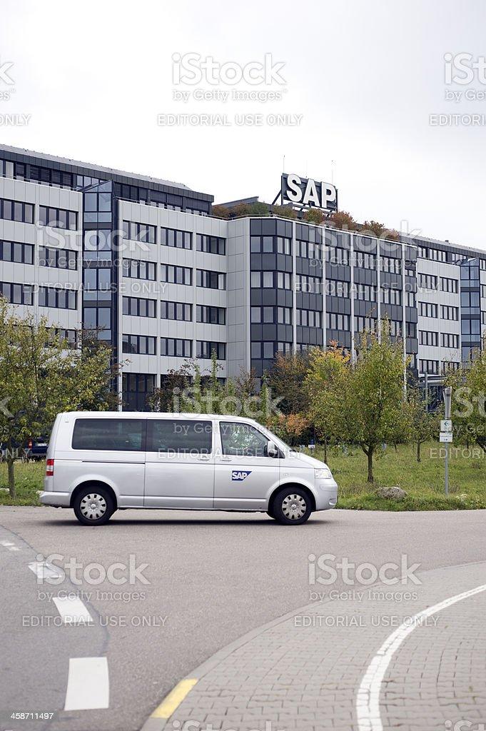 Headquarter of SAP, Walldorf. stock photo