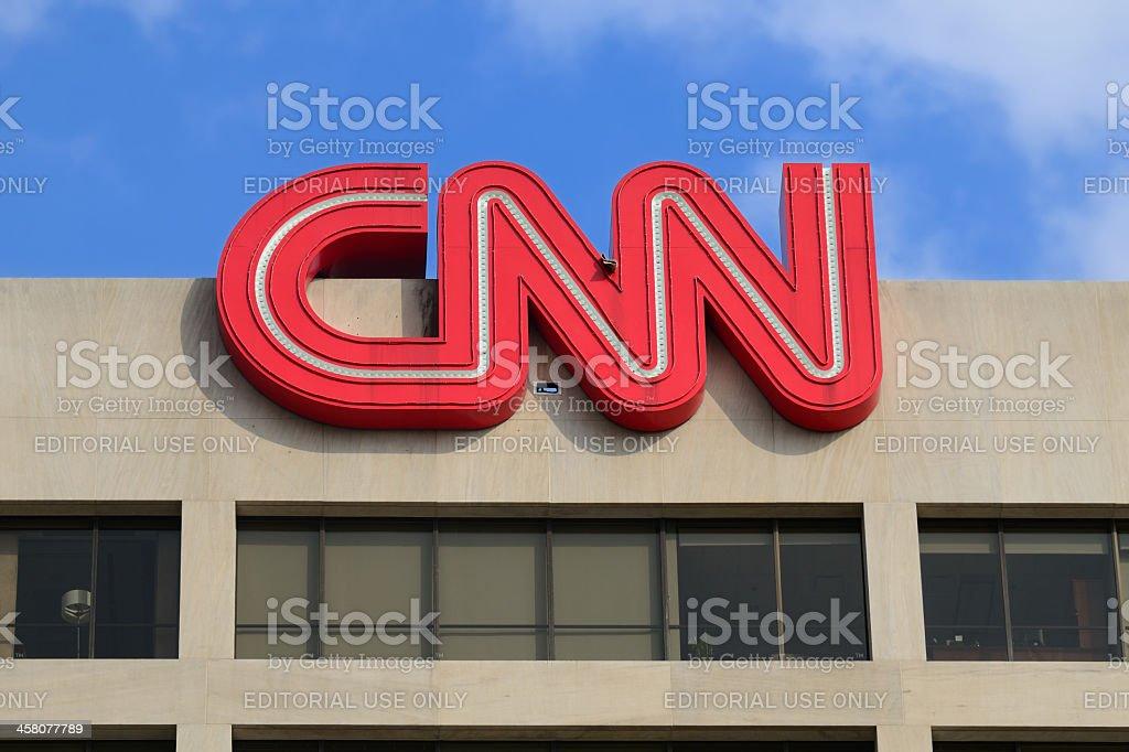 'CNN Headquarters in Atlanta, Georgia, USA' stock photo