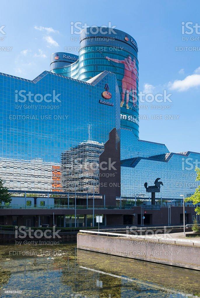 headquarters of dutch bank stock photo