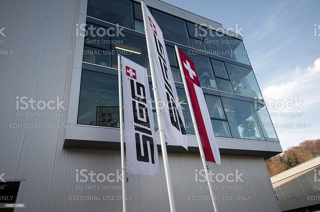 Headquarters of the company SIGG royalty-free stock photo