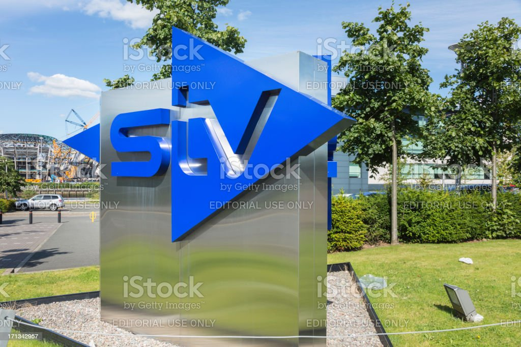 STV (Scottish Television) Headquarters stock photo