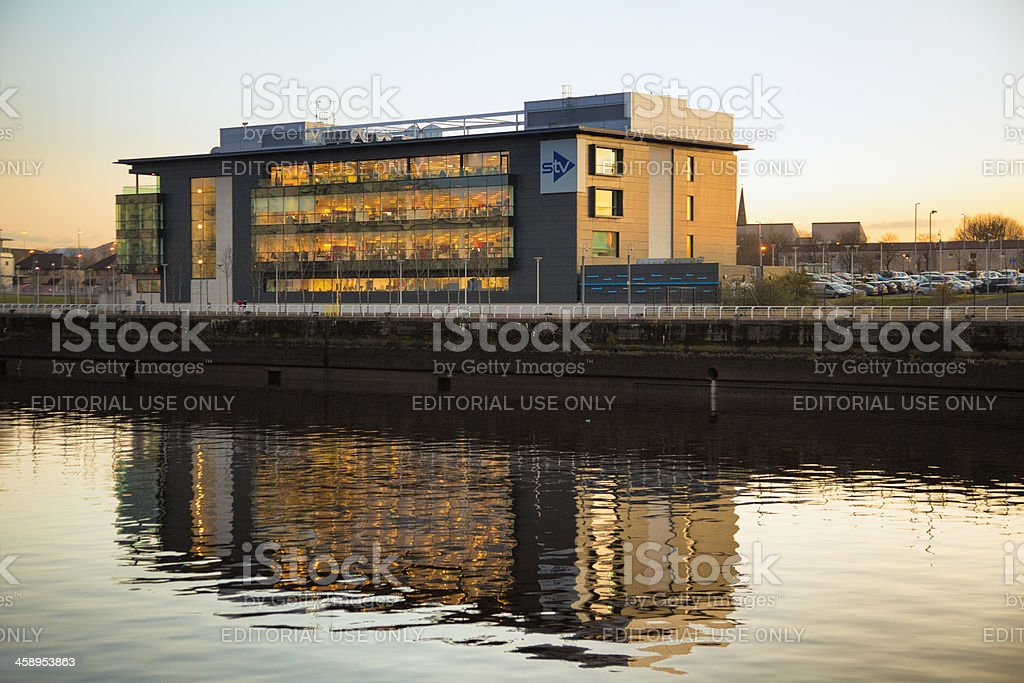 STV (Scottish Television) Headquarters stock photo
