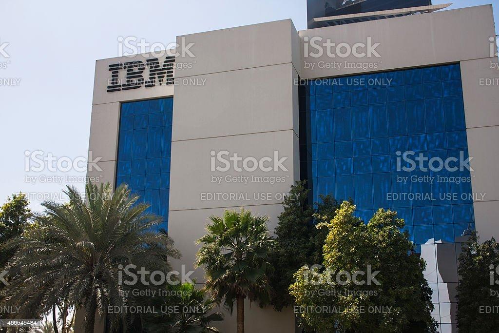 IBM headquarters stock photo