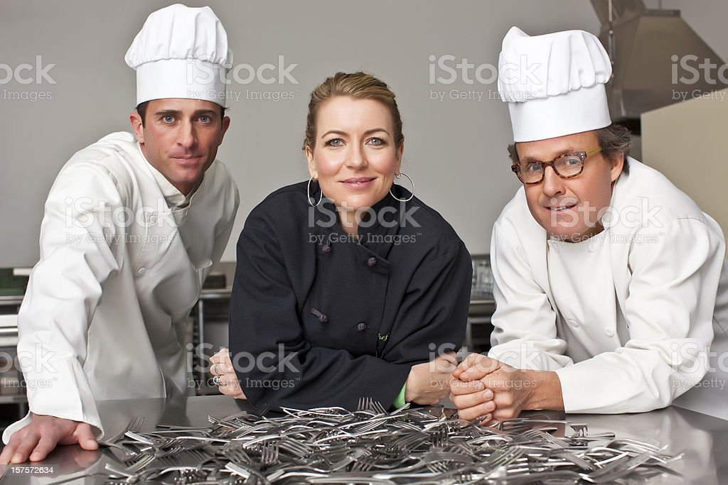 Chefs royalty-free stock photo