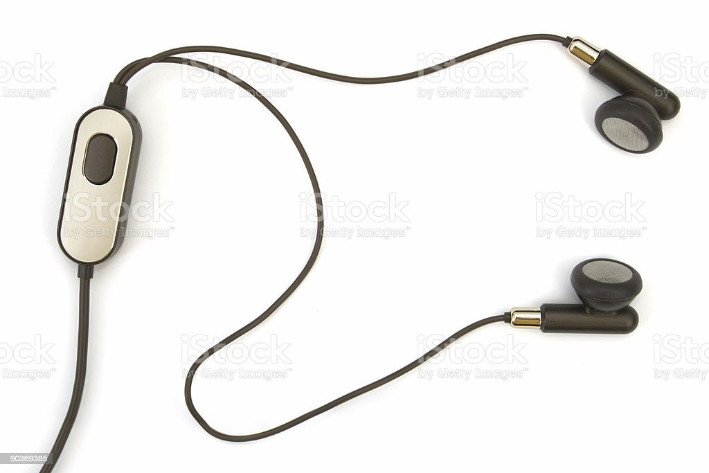 Headset (hands free) royalty-free stock photo
