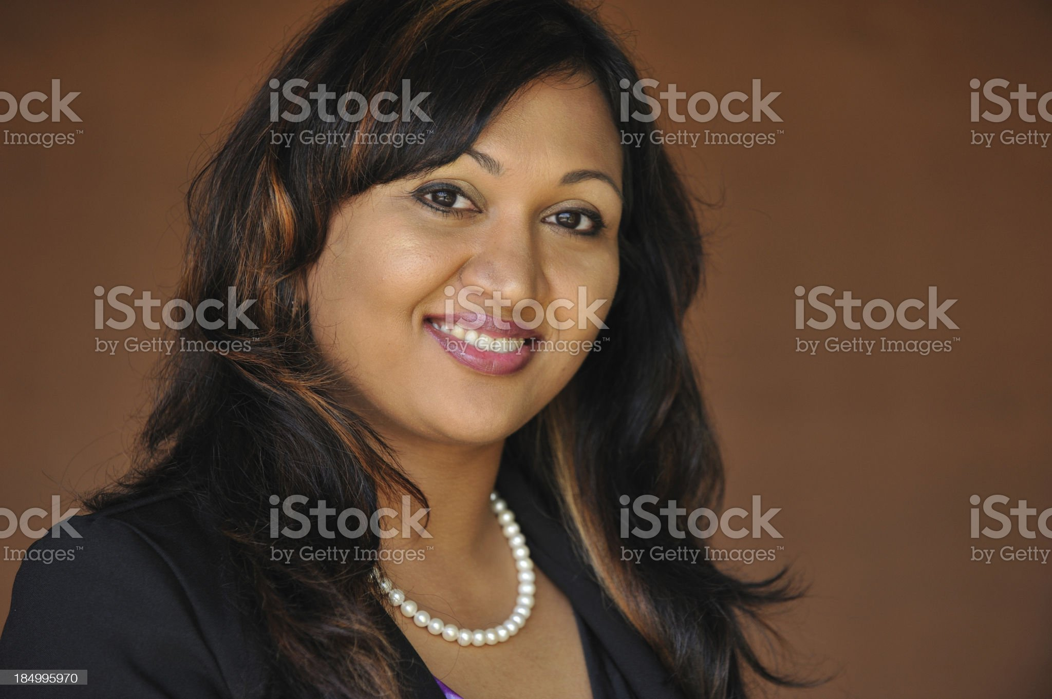 Headshot of Indian professional royalty-free stock photo