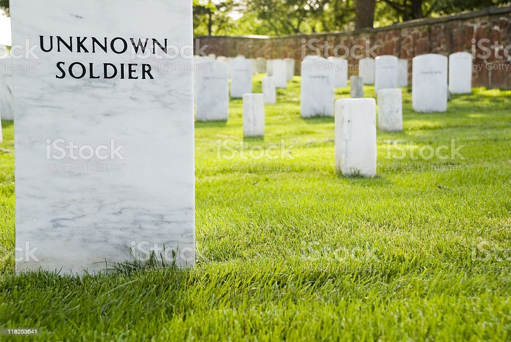 Unknown Soldier at Arlington stock photo