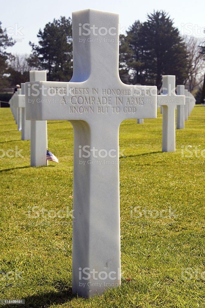 Headstone stock photo