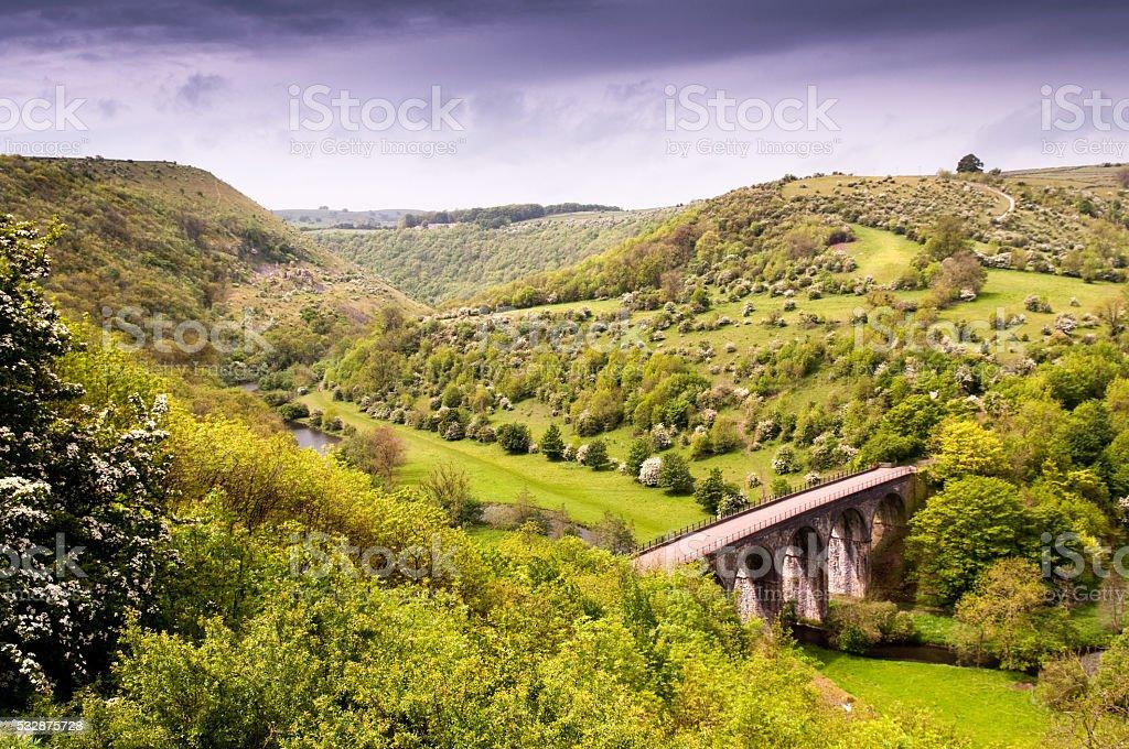 Headstone Viaduct stock photo