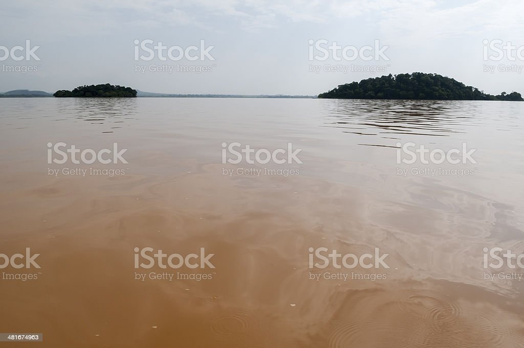 Headwaters of the Blue Nile - Lake Tana, Ethiopia stock photo