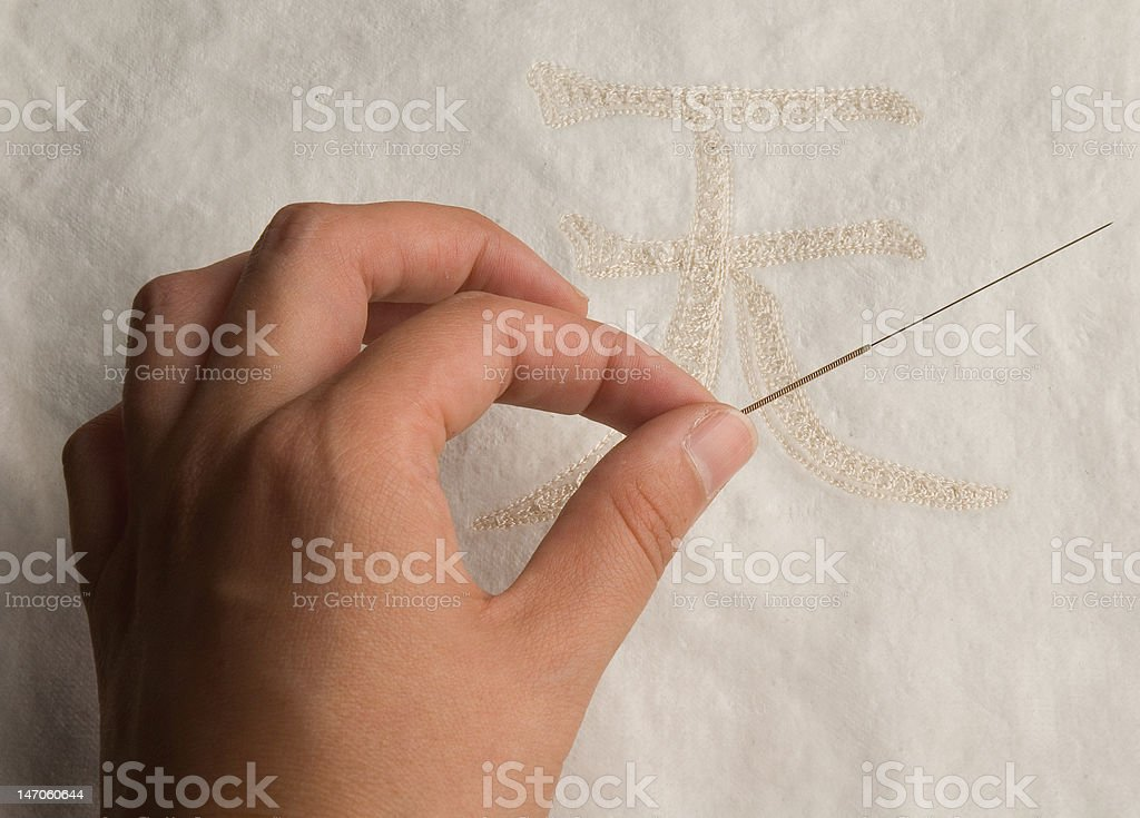 healer hand royalty-free stock photo