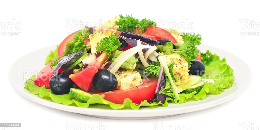 healhy salad royalty-free stock photo