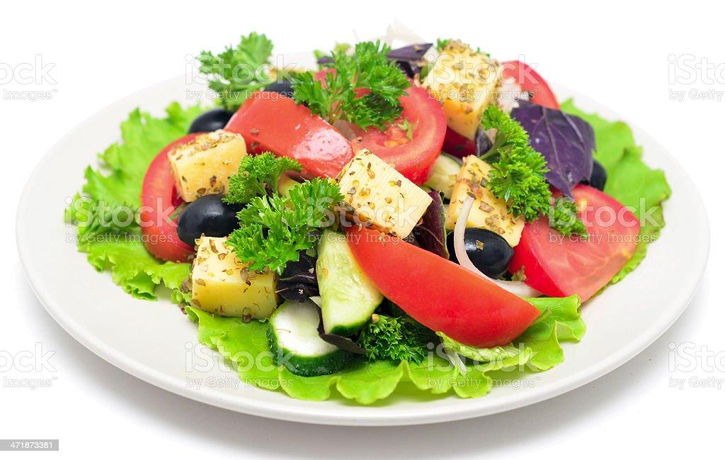 healhy salad royalty-free stock photo