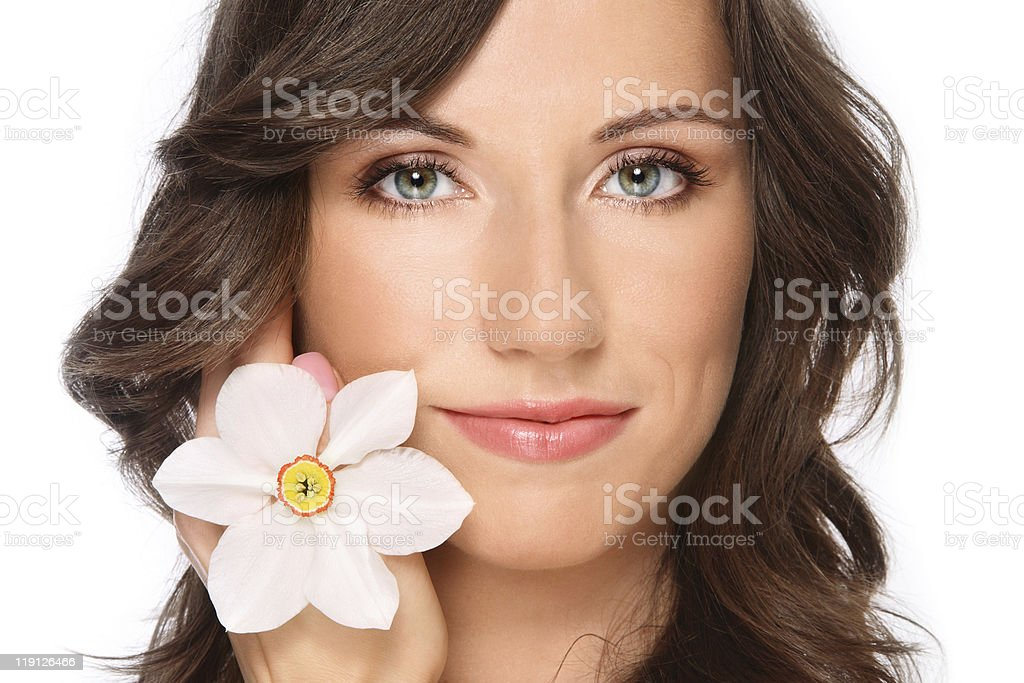 Healhy skin royalty-free stock photo
