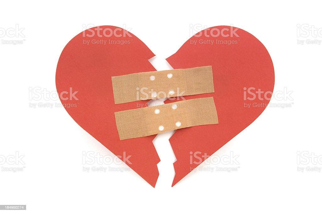 Healing a Broken Heart stock photo