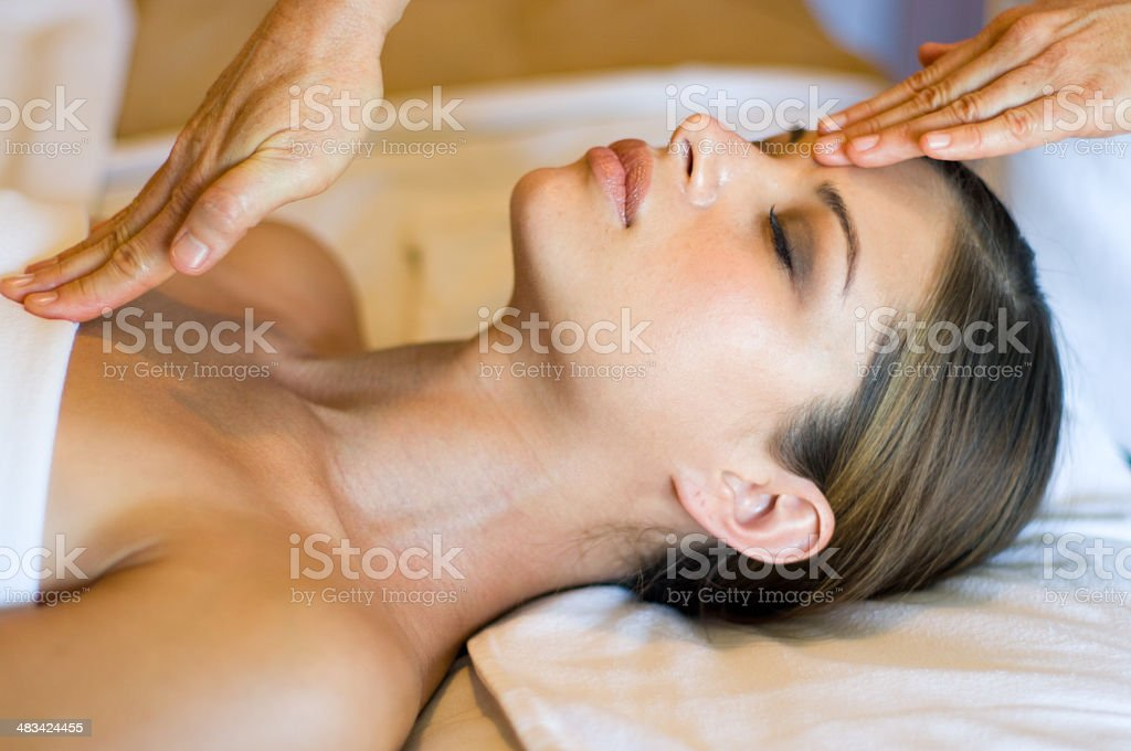 healing hands royalty-free stock photo