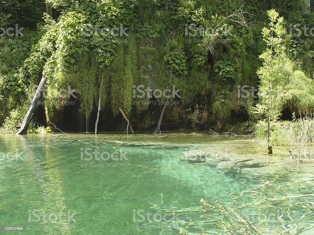 Healing Lagoon stock photo
