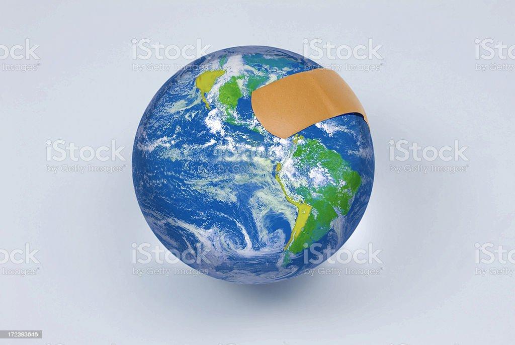 Healing the earth royalty-free stock photo