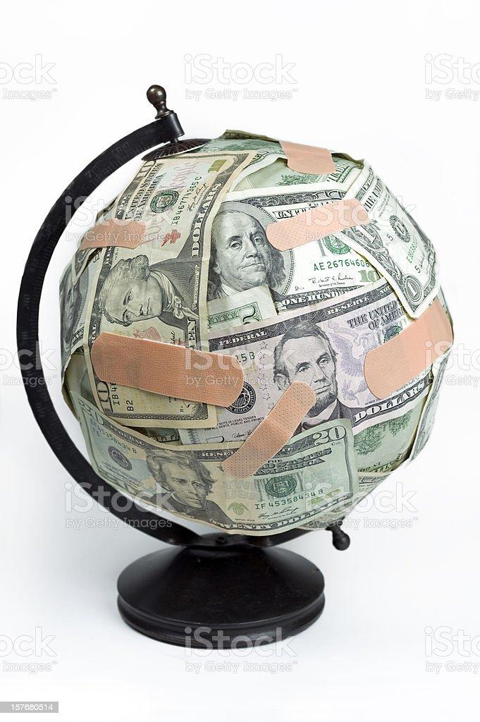 Healing the economy. royalty-free stock photo