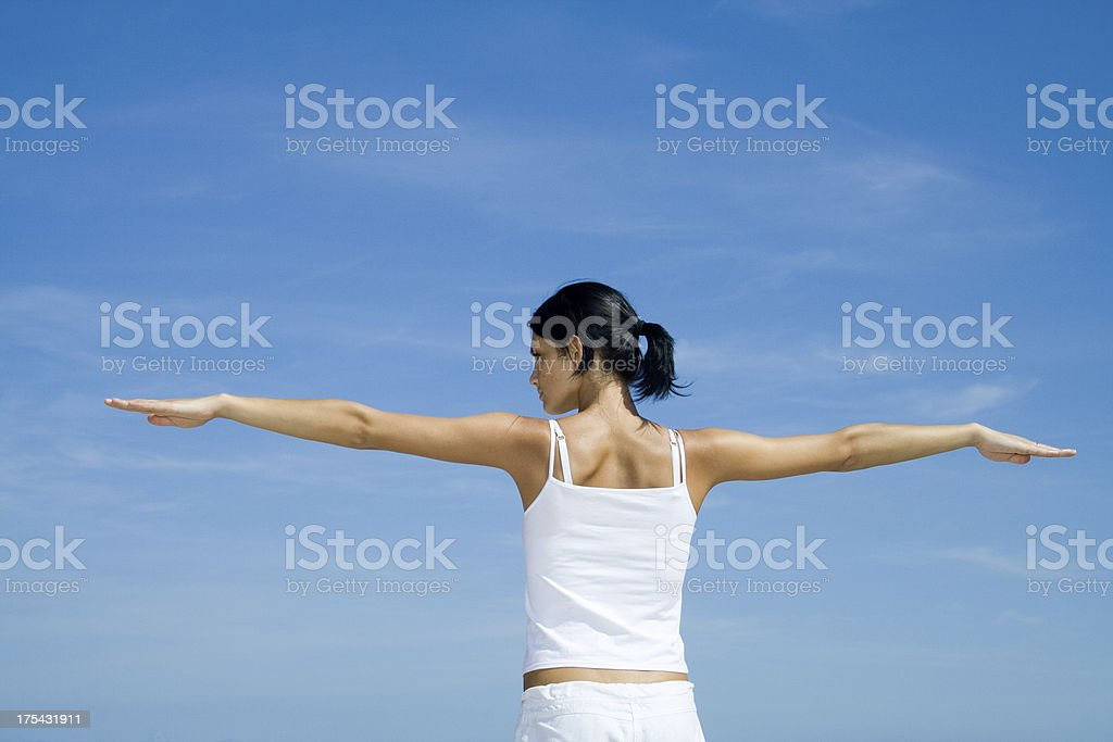 Health and Beauty - exercise royalty-free stock photo