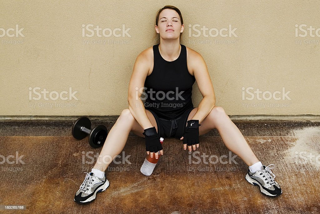 Health and Fitness royalty-free stock photo