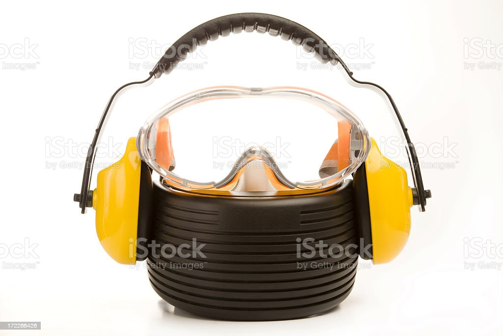 Health and safety equipment stock photo