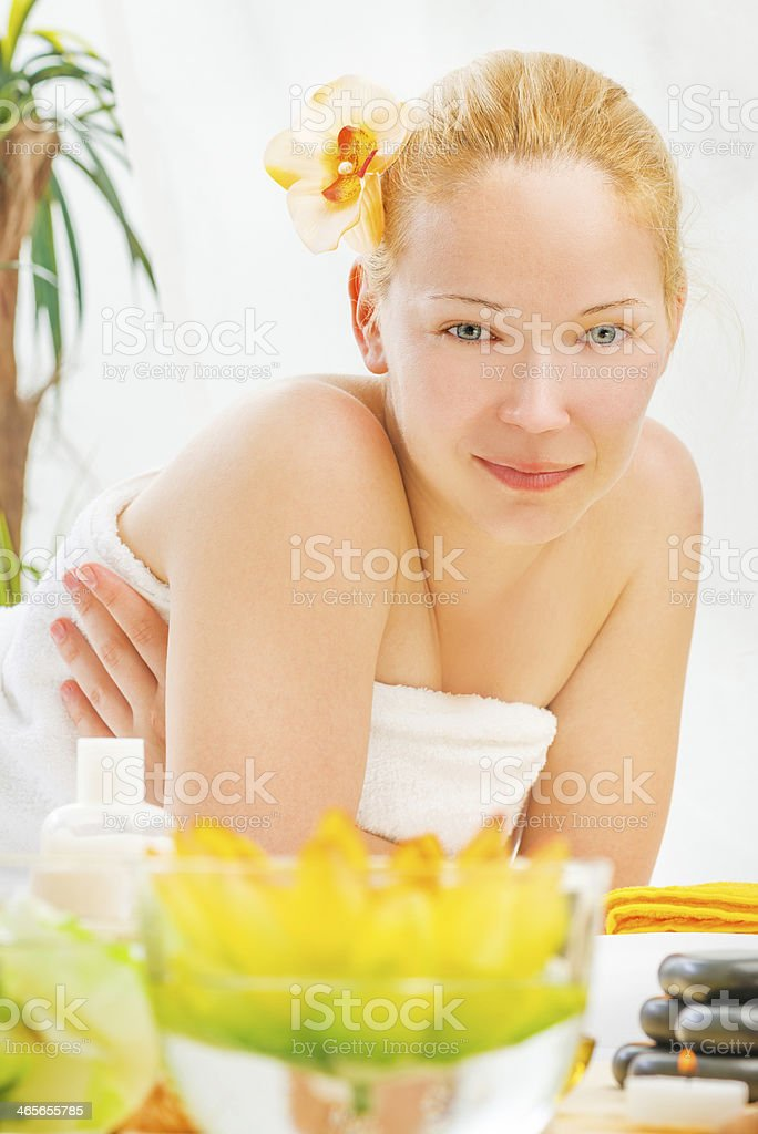 Health and spa royalty-free stock photo