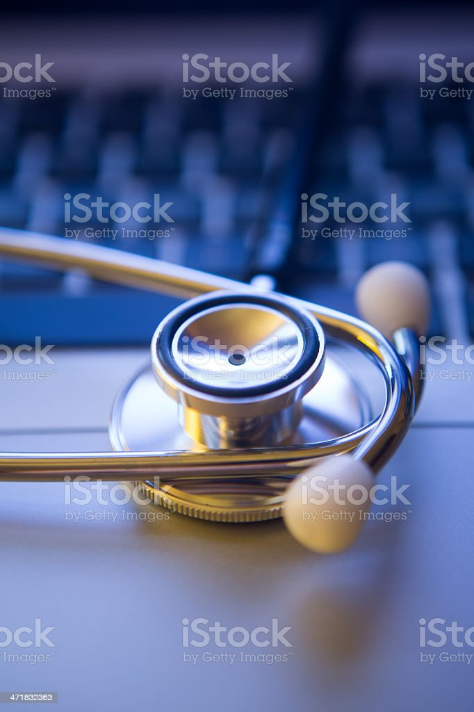 Health and Technology royalty-free stock photo