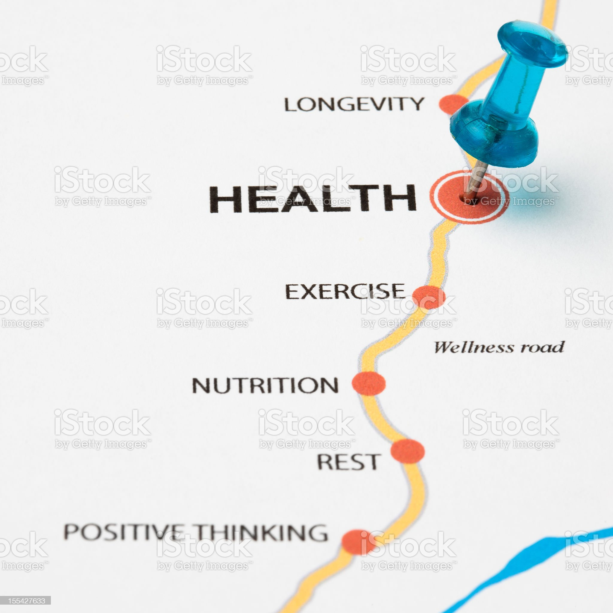 Health as target royalty-free stock photo