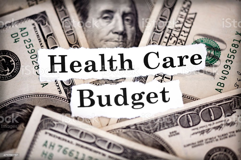 health care budget royalty-free stock photo