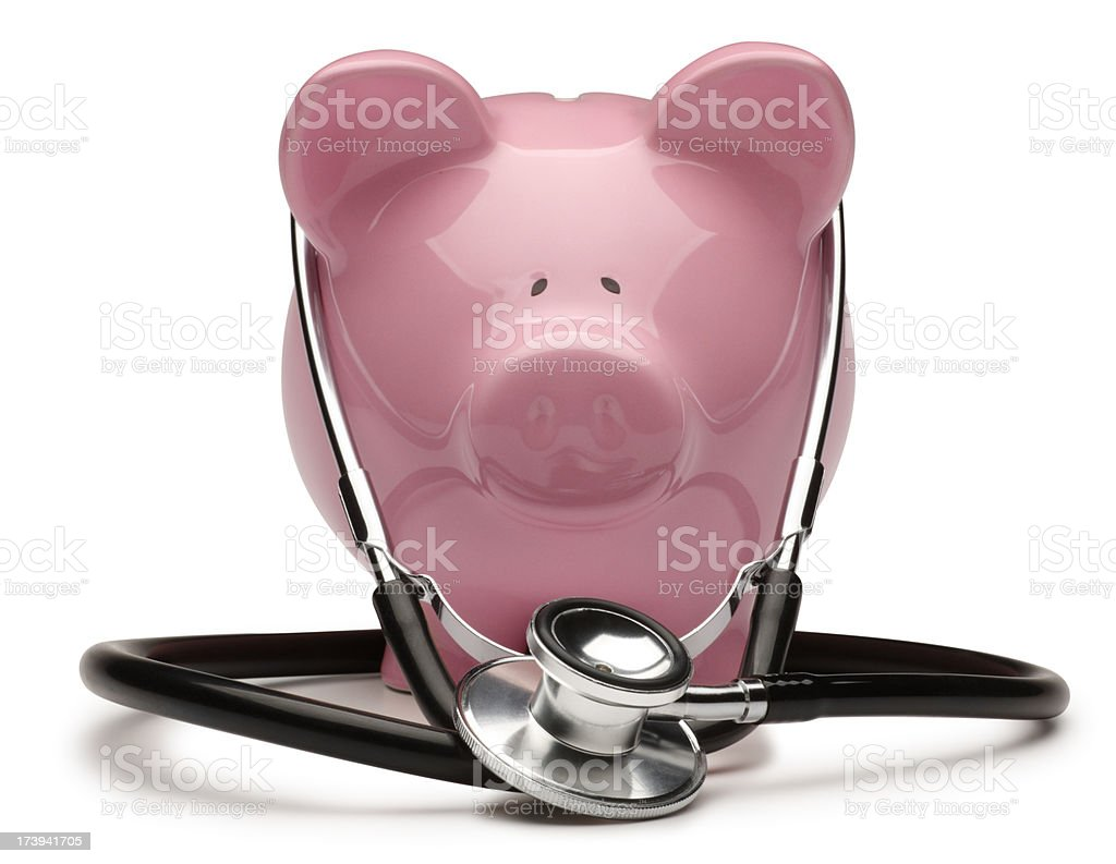 Health Care Costs royalty-free stock photo