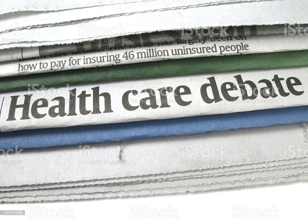 Health Care Debate stock photo