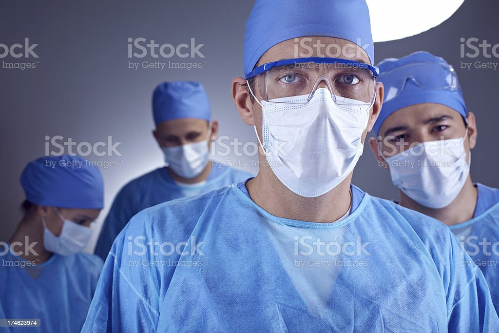Health care professionals royalty-free stock photo