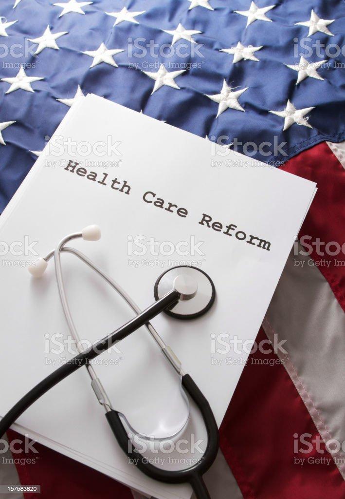 Health Care Reform Bill Law stock photo
