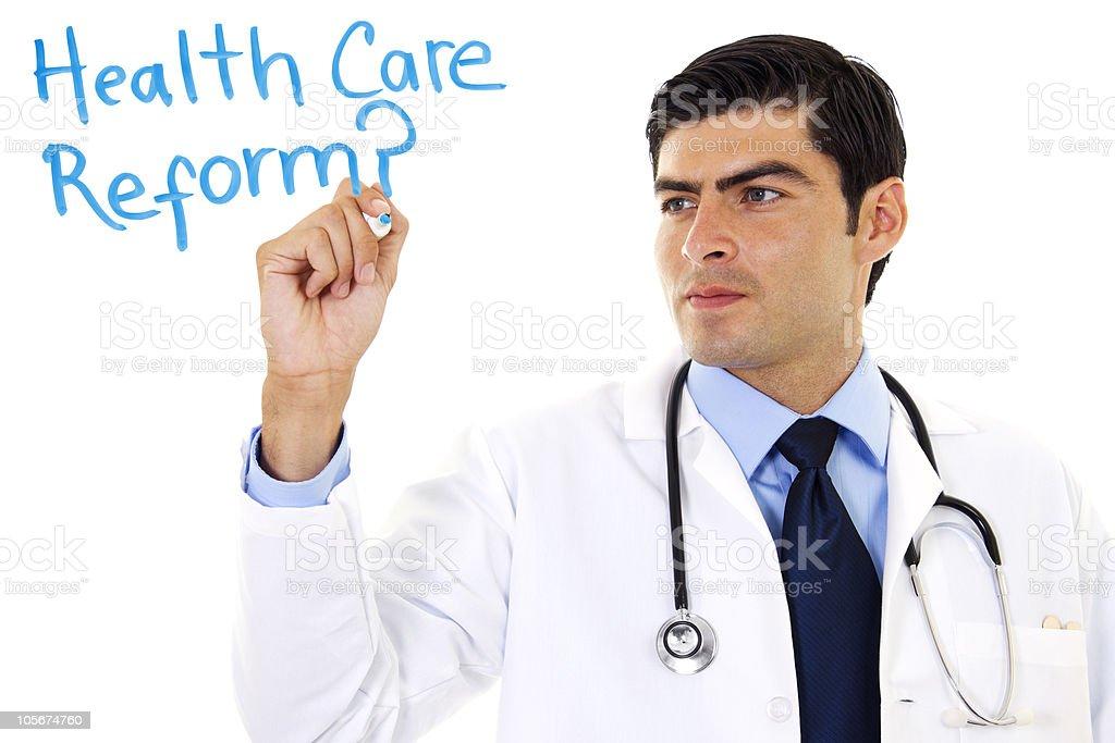 Health Care Reform stock photo