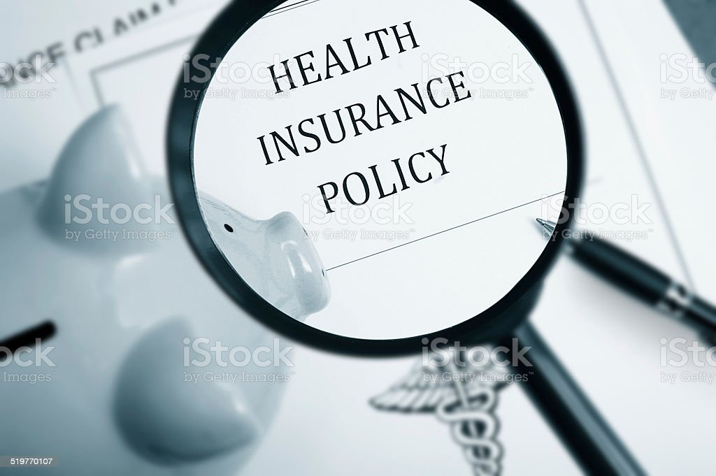 Health care search stock photo